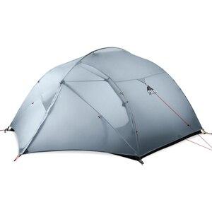 Image 4 - 3F Ul Gear 3 Persoon Camping Tent 15D Siliconen 210T Outdoor Ultralight Wandelen Waterdicht Met Grondzeil