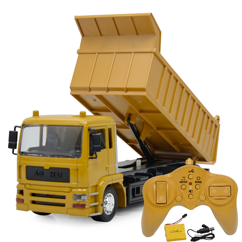 1:14  remote control  hydraulic  dump truck machine on the radio control 10CH  kids car toys electric loader cars1:14  remote control  hydraulic  dump truck machine on the radio control 10CH  kids car toys electric loader cars
