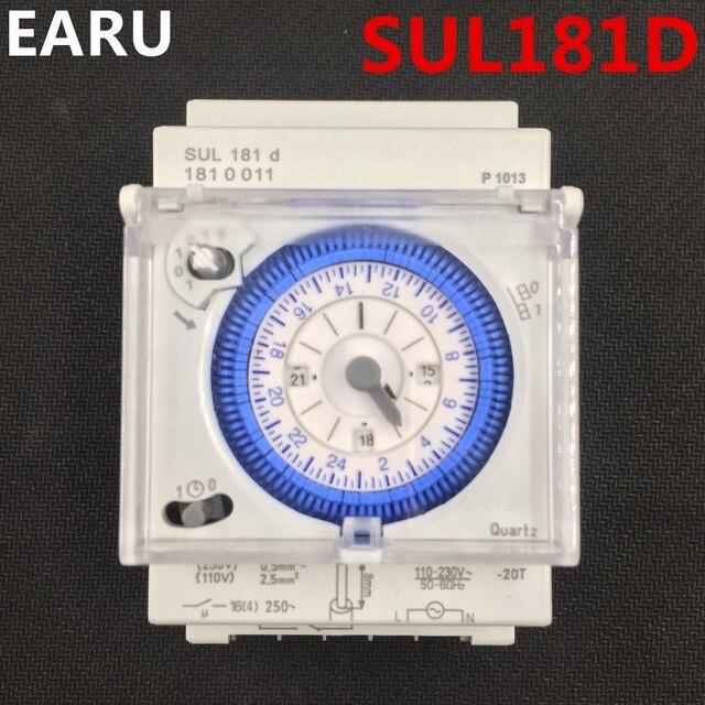 free shipping analog mechanical timer switch 110v 220v 24 hours
