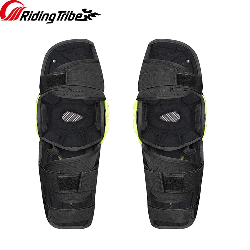 Image 4 - 3 colors PRO BIKER 2018 Motorcycle knee protector Knee sliders  motosiklet knee Protective Gear Protector Guards KitMotorcycle  Protective Kneepad   -