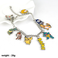 New Fashion font b Anime b font Pokemon Charm Bracelet Pokemon Go Team Mystic Valor Instinct