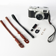 Genuine Leather Camera Wrist Hand Strap Grip For Leica C M M6 Q T X1 X2 X-E X Vario D-LUX TYP109 D-LUX6 TYP116 high quality