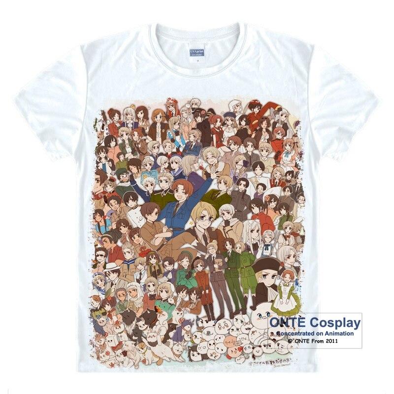 Anime Axis Powers Hetalia Cosplay Costumes Баспа - Костюмдер - фото 2
