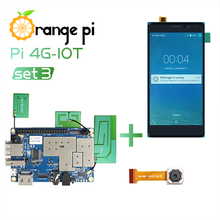 Orange Pi 4G-IOT+5.5 Inch TFT LCD Touch Screen+4G Camera, Run Android 6.0 Image