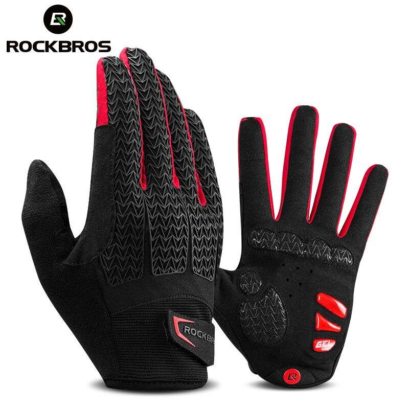 ROCKBROS Gloves Half Finge Cycling Sporting MTB Bike Breathable Shockproof ROCKB