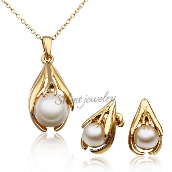 Free shipping charming alloy simple jewellery with white elegant free shipping charming alloy simple jewellery with white elegant yellow pearl jewelry sets hot sale fashion hottest wedding in jewelry sets from jewelry aloadofball Gallery