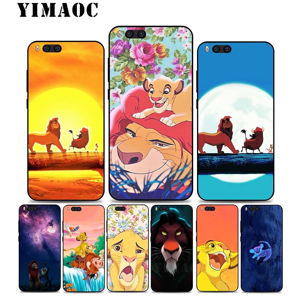YIMAOC A53 The Lion King Cartoon Soft Silicone Case for Xiaomi Redmi 6 Note 4X 4A 5A 5 Plus MiA1 A2 Pro Lite Mi 8 6 A1 A2