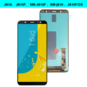 Image 2 - 6.0 SUPER AMOLED for SAMSUNG Galaxy J8 2018 Display Touch Screen Replacement For Galaxy J810 J810F SM J810F LCD Display