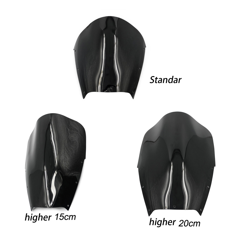 02-05 <font><b>TDM</b></font> <font><b>900</b></font> Motorcycle Windshield ABS Windscreen Fairing Wind Deflectors For <font><b>Yamaha</b></font> TDM900 Tracer <font><b>900</b></font> 2002 <font><b>2003</b></font> 2004 2005 image
