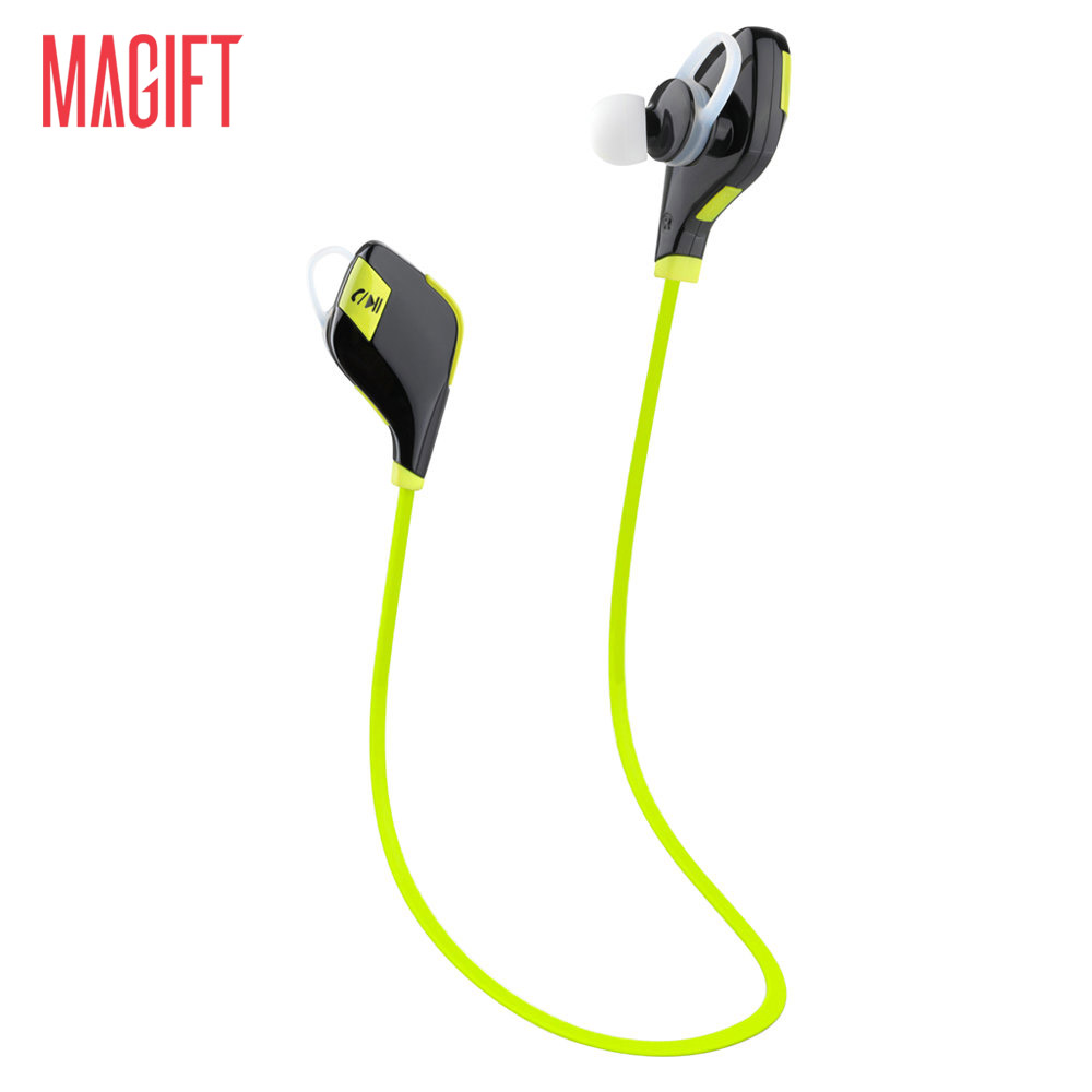 Original Magift5 Sports Running Gym Bluetooth V4.1 Headset In-ear Earphones Wireless Headphones Mic for iPhone7 6S Android phone remax 2 in1 mini bluetooth 4 0 headphones usb car charger dock wireless car headset bluetooth earphone for iphone 7 6s android