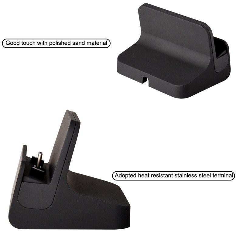 Qosea USB 3.1 Tipo-C Cargador Estación Soporte Tipo-C Base de carga - Accesorios y repuestos para celulares - foto 2