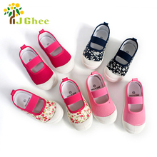 2019 New Spring Autumn Baby Girl Shoes Kids Canvas