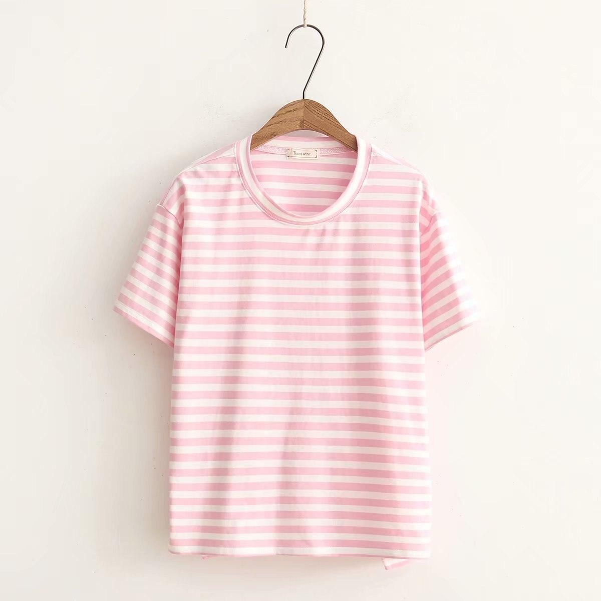 T-shirt en coton pour l'été 2018 ...