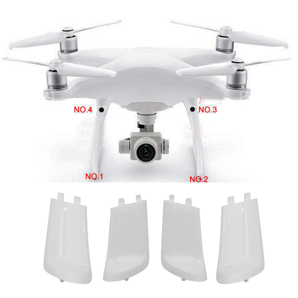 4Pcs/set Landing Gear Leg For DJI Phantom 4 Pro /Adv Drone Landing Gear Cover Case Repair Parts Drone Accessories Kits