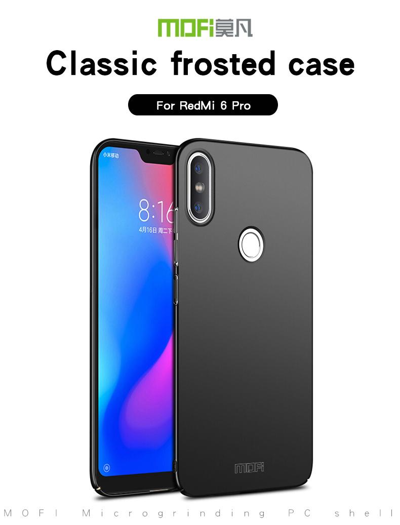 super popular f479a c216a Details about Xiaomi Mi A2 Lite MOFI Hard Matte Back Cover 360 Full Body  Ultra-Thin Shell Case