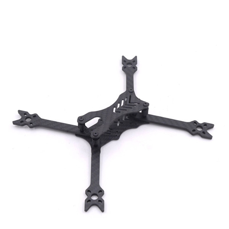 HANTU 5 Inch 210mm Carbon Fiber 4mm Arm Frame Kit  W/ 3D Printed Parts for RC Models Quadcopter FPV Racing Drone Motor ESC f04305 sim900 gprs gsm development board kit quad band module for diy rc quadcopter drone fpv