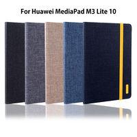 Case For Huawei MediaPad M3 Lite 10 10 1 BAH W09 BAH AL00 Smart Cover Funda