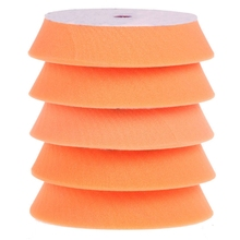 Mayitr 5pcs 6 150mm Sponge Polishing Waxing Buffing Pads Kit Set For Car Polisher Wash Accessories