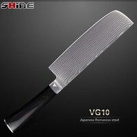 SHINE New Arrival Sharp Kitchen Knife 7 Chopper Knife VG10 Stainless Steel Damascus Knife Multi Purpose