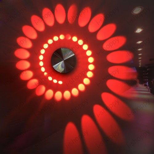 New Spiral 3W High Power LED Wall Light Fixture Lamp Bulb Hotel Walkway House Decor new farah hotel ex residence farah 3 агадир