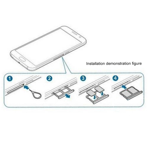 carte sim samsung galaxy s6 Dual SIM Card Tray for Samsung Galaxy S6|card door|card reader