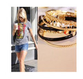 SL120 2015 new fashion Style mix of sequins falling falling multiturn 6 ring bracelet Wholesale jewelry accessories 6pcs/lot