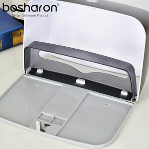 Image 4 - Hand Multifold Paper Towel Holder Bathroom Accessories Wall Mounted Kitchen Holder For Paper Towel Dispenser Key Open Tissue Box