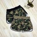 2016 fashion Camouflage shorts casual basic new board shorts Women Loose Drawstring hot Short pant Camouflage pantaloncini donna