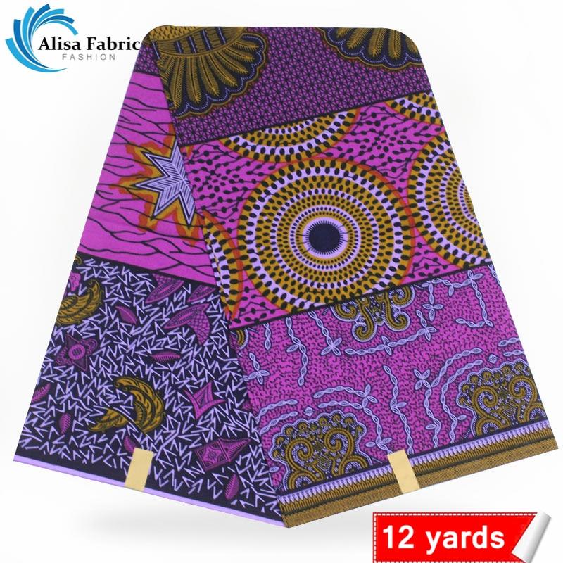 Best quality african wax prints fabric 100 cotton wax ankara veritable wax guarantee dutch real wax