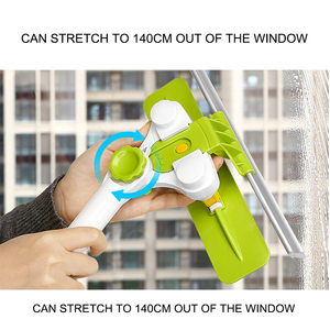 Image 4 - Eworld Hot Upgraded Telescopic High rise Window Cleaning Glass Cleaner Brush For Washing Window Dust Brush Clean Windows Hobot