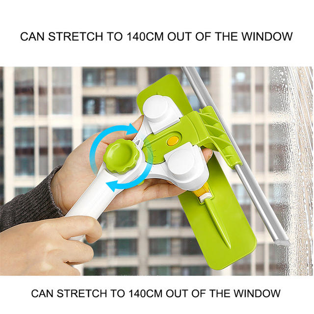 Telescopic High-rise Window Glass Cleaner