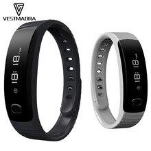 Vestmadra H8 Smart Band OLED Дисплей браслет Sleep Monitor Спорт фитнес трекер вызова сообщение напоминание дистанционного Камера музыка