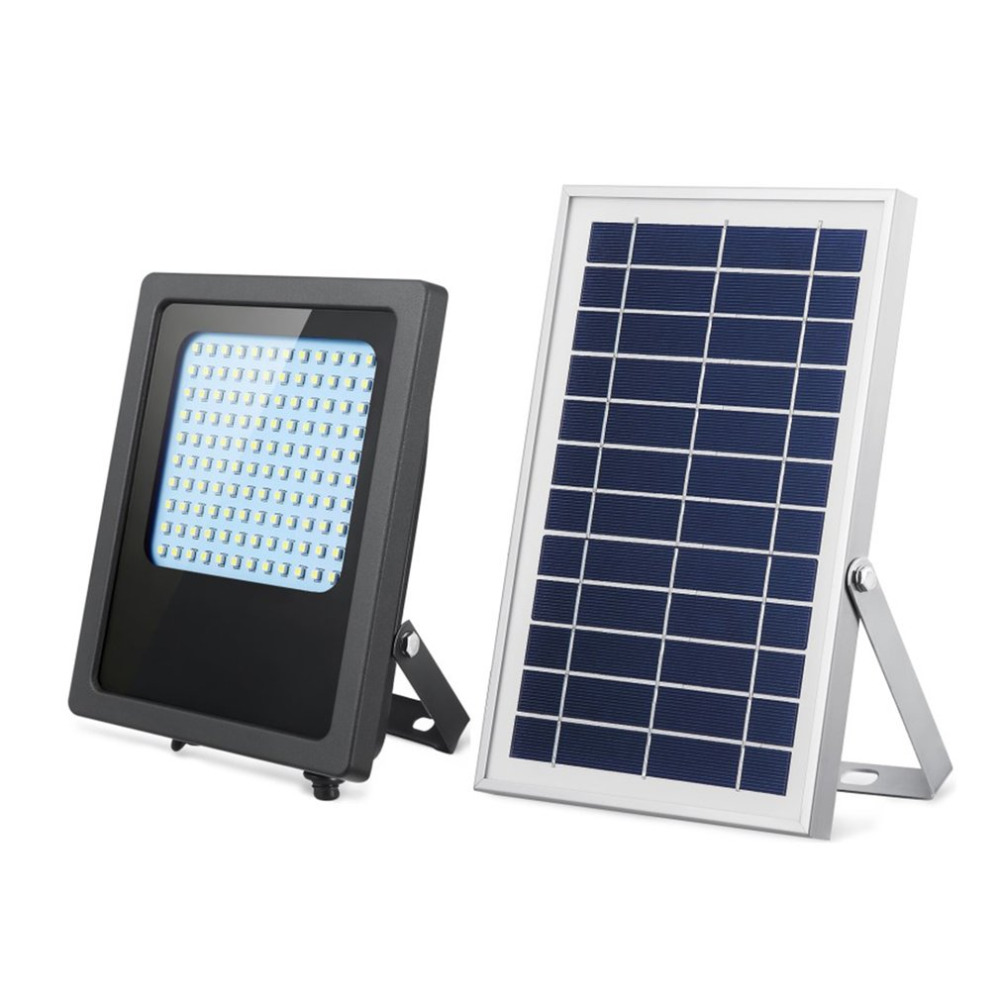 Remote Control Courtyard Lamp 120 LED Super Bright Solar Powered Garden Light Street Landscape Flood Light for Outdoor Home цена 2017