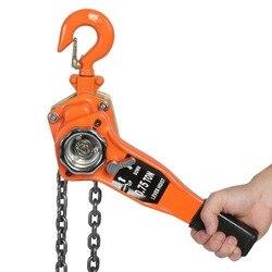 Polipasto de cadena de 3Ton/3000 kg, polipasto de trinquete, polea de palanca, cadena de elevación, longitud de 3 metros, herramienta de peso