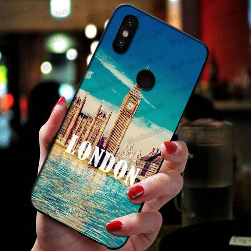 babaite london bus england telephone Phone Case cover Shell For xiaomi mi 8se 6 mi8lite note2 note3 mix2 max2 max3 cases