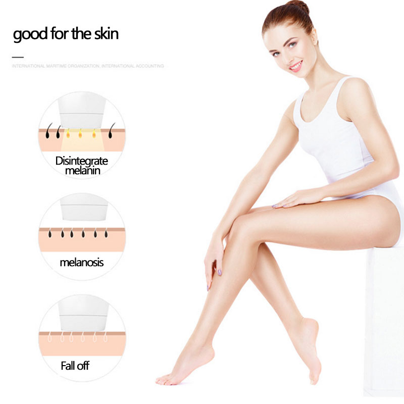 New Household Laser Hair Removal Machine Painless Laser Epilator Hair Removal Permanent Trimmer Electric Bikini - 6