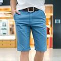 2016 Novo de Alta Qualidade dos homens Livres do Transporte de Verão bermudas casuais capris altura do joelho-comprimento shorts praia calças curtas masculino