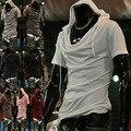 Personalidad de la moda de La ciudad Nuevo nuevos hombres sudadera con capucha de manga corta 30 T-shirt