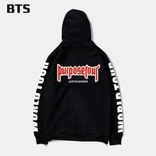 BTS mens hoodies and sweatshirts hip hop Justin bieber clothes cool and fashion style hoodie harajuku sweatshirt plus size 4XL