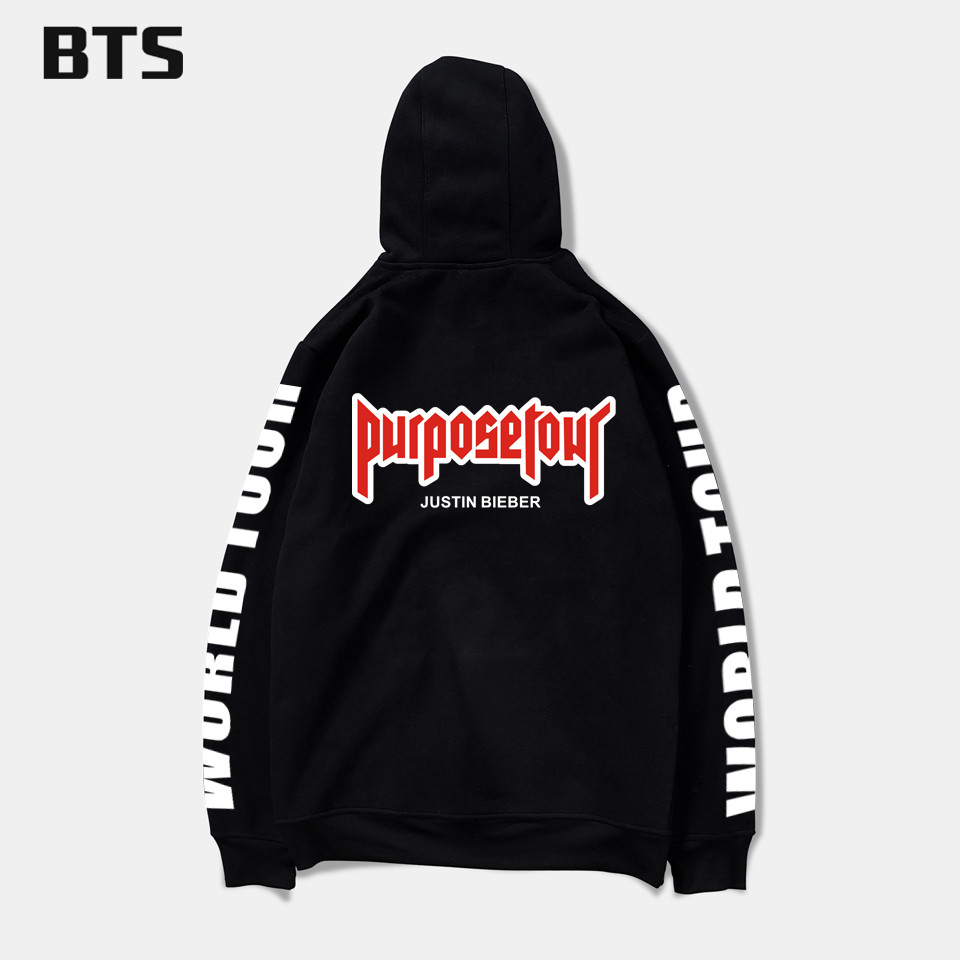 bts mens hoodies and sweatshirts hip hop justin bieber. Black Bedroom Furniture Sets. Home Design Ideas