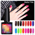 Belle Fille UV Gel Polish Fluorescent Color Gelpolish Soak Off Gel LED Manicure gelpolish Nail Art Varnish for Dating Makeup