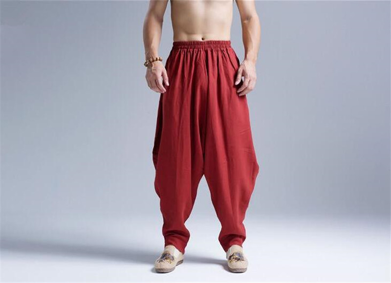 Pantalon Shenzhen rouge