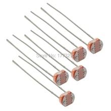 20pcs/lot GL5516 5516 Light Dependent Resistor LDR 5MM Photoresistor Free Shipping