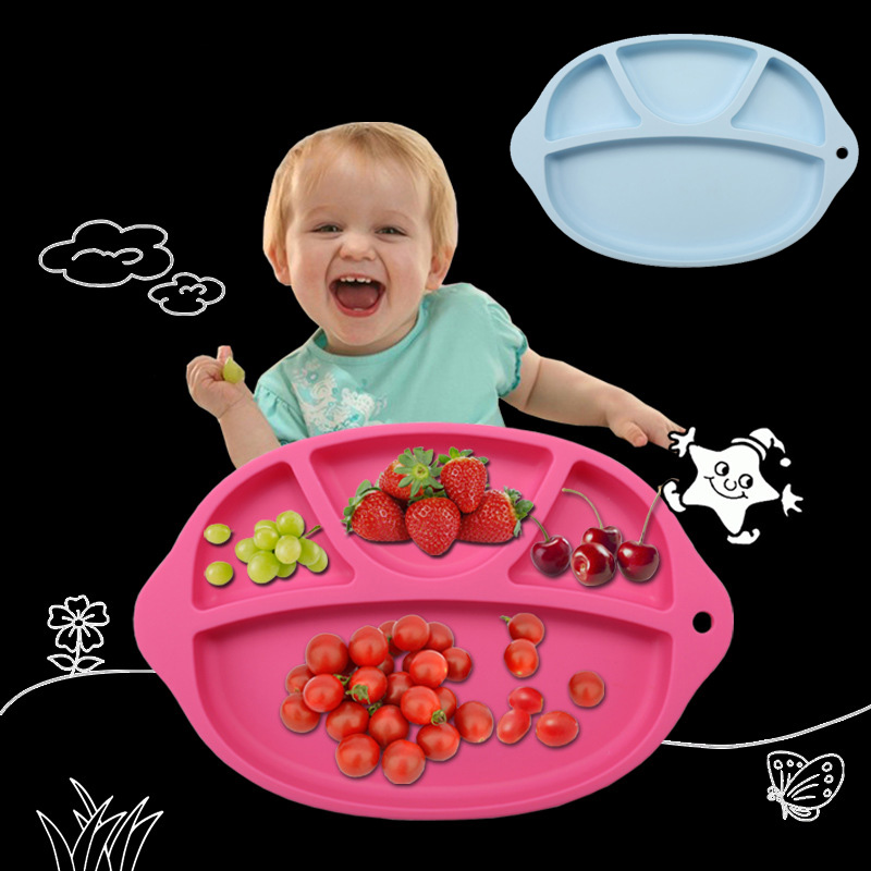 KITNEWER Waterproof silicone Baby bib Table Mat Infant Tiny Diner Portable Placemat for kids Baby Feeding silicone baby placemat