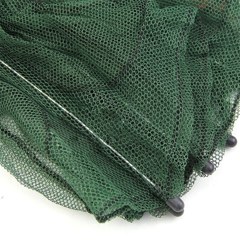 Folded Portable Hexagon 6 Hole Automatic Trap Fishing Net Fish Shrimp Minnow Crab Baits Cast Mesh Trap #4MY10 (3)