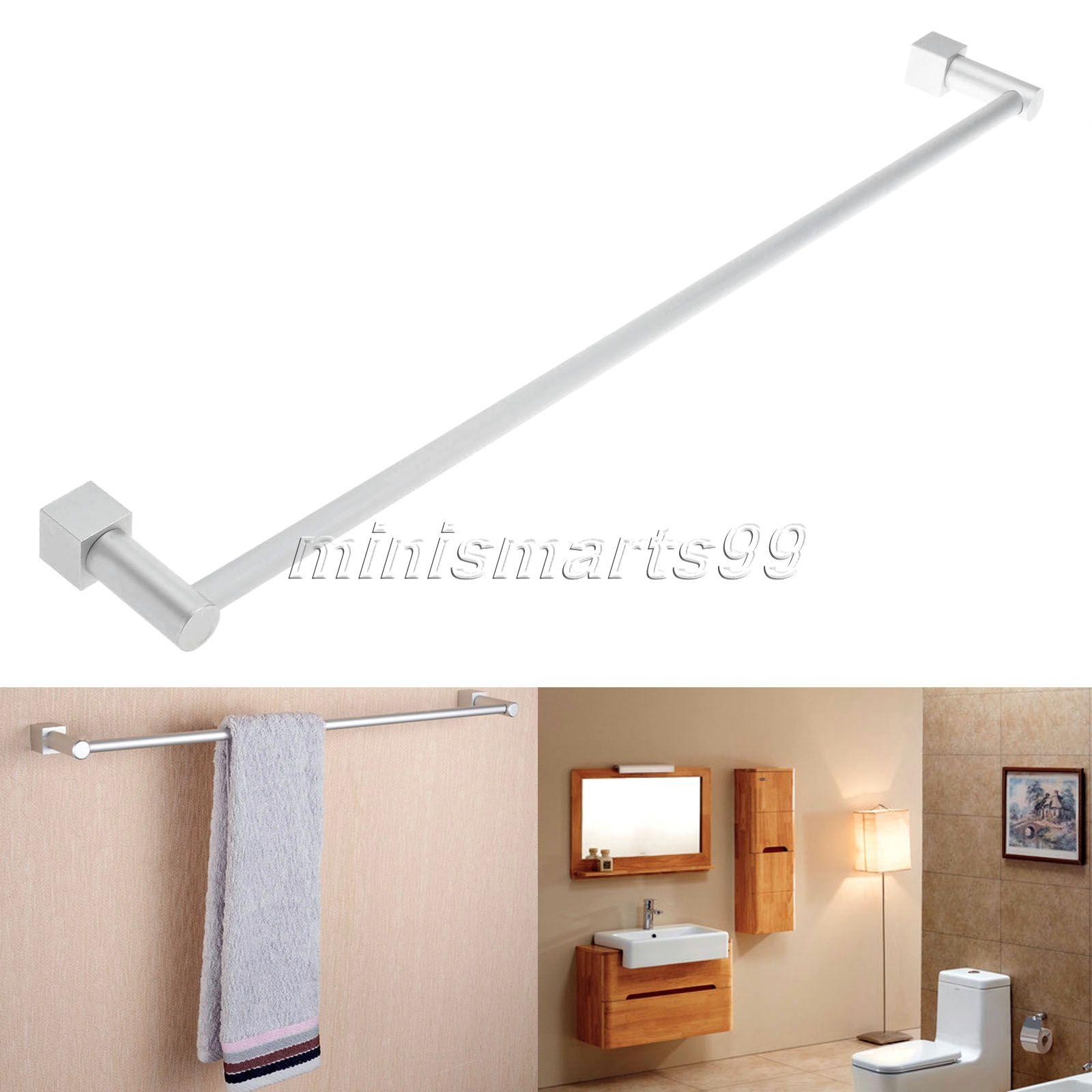 Wholesale/Retail Aluminum Wall Mounted Towel Rack Holder Single ...