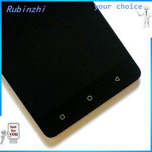 Image 4 - RUBINZHI Com Fita Ferramentas Display LCD Do Telefone Móvel Para Tele2 Maxi Plus Screen Display LCD Com a Montagem da Tela de Toque