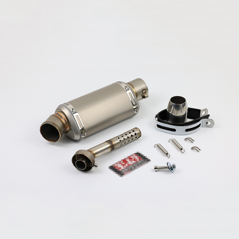 Moto Scooter Silencer 38-51MM Universal Modified Akrapovic motorcycle titanium exhaust Muffler