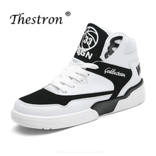Man Sneakers Casual Skateboarding Shoes Size38-45 Comfortable Sports New Trend White Platform Designed Luxury Male Ankle Boots