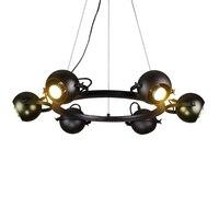 DIY Ray Angle Vintage Pendant Lights LED Pendant Lamp Restaurant Lighting Wrought Iron Kitchen Dining Room